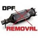 DPF removal